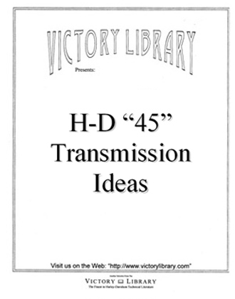 British Transmission Ideas for the Harley 45